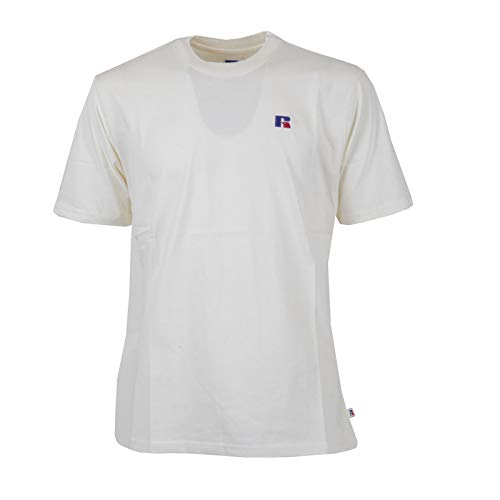 Russell Athletic T-Shirt pour Homme Baseliners E9.600.2.045.SY L crème