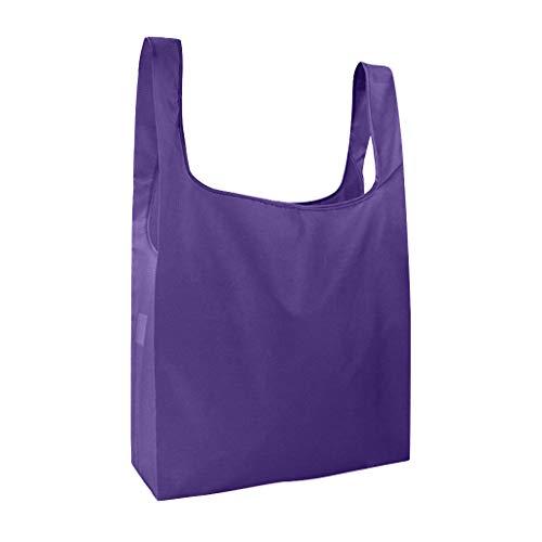 Bascar Wiederverwendbare Faltbare Einkaufstasche,Tragbare Einkaufstasche Faltbar Einkaufsbeutel,Umweltfreundliche Einkaufstaschen,Faltbar Einkaufstüten,Waschbar & Stabil & Leicht