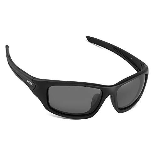LATEC Polarisierte Sport Sonnenbrille Leichte Brille mit UV400 Schutz & TR90 Unzerbrechlicher Rahmen für Männer Frauen Radfahren Laufen Angeln Golf Fahren Laufen