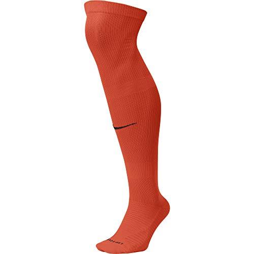 NIKE U NK Matchfit Knee High-Team 20 Socks, Unisex Adulto, University Red/White, XL