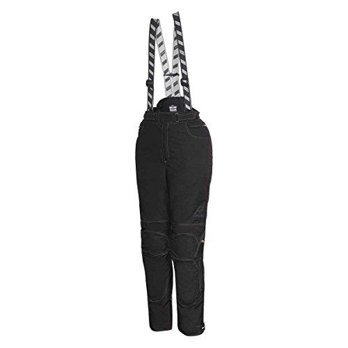 Rukka Fuel Lady Damen Motorradhose, Farbe schwarz, Größe 46 kurz