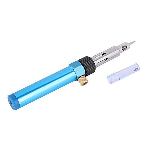 Samfox Soldador eléctrico, 30-70W 210-400 ℃ Hierro Soldador a Gas Soldadura Oro/Plata/Sopper/Estaño/Aluminio Soldador