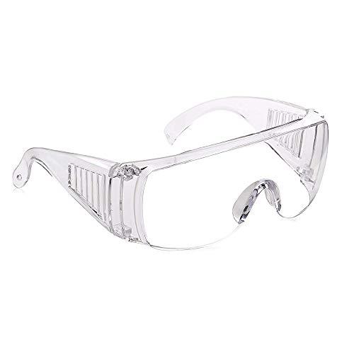 Gafas protectoras - Cubregafas - Gafas de seguridad protectoras - Antivaho - Contruccion, Laboratorio (1pcs)