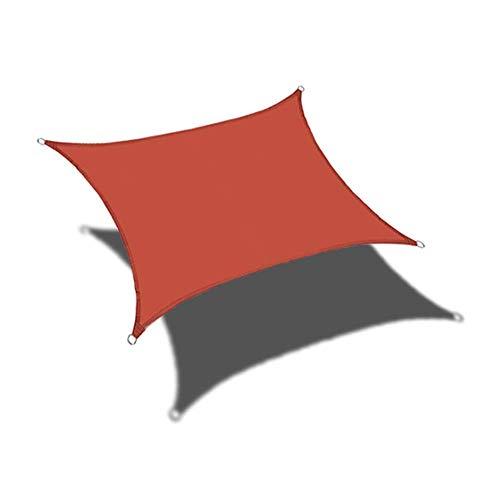 LHJY Parasol Cuadrado Vela Anti-Ultravioleta, Parasoles De Jardín, Utilizado para La Personalización De Soporte De Campo De Terraza Y Exterior (2 × 2 M)(Color:A1)
