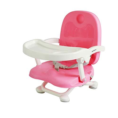 YShop Siège rehausseur portatif Confortable de bébé de bébé de Chaise réglable en Hauteur, Chaise dinante des Enfants for des bébés aux Enfants en Bas âge ( Color : Pink )