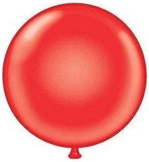 Mayflower 38177 72 Inch Giant Latex Balloon - Red