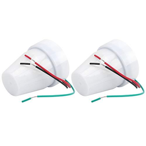 Interruptor de control de luz de controlador de iluminación 10A para ferrocarriles para alumbrado público