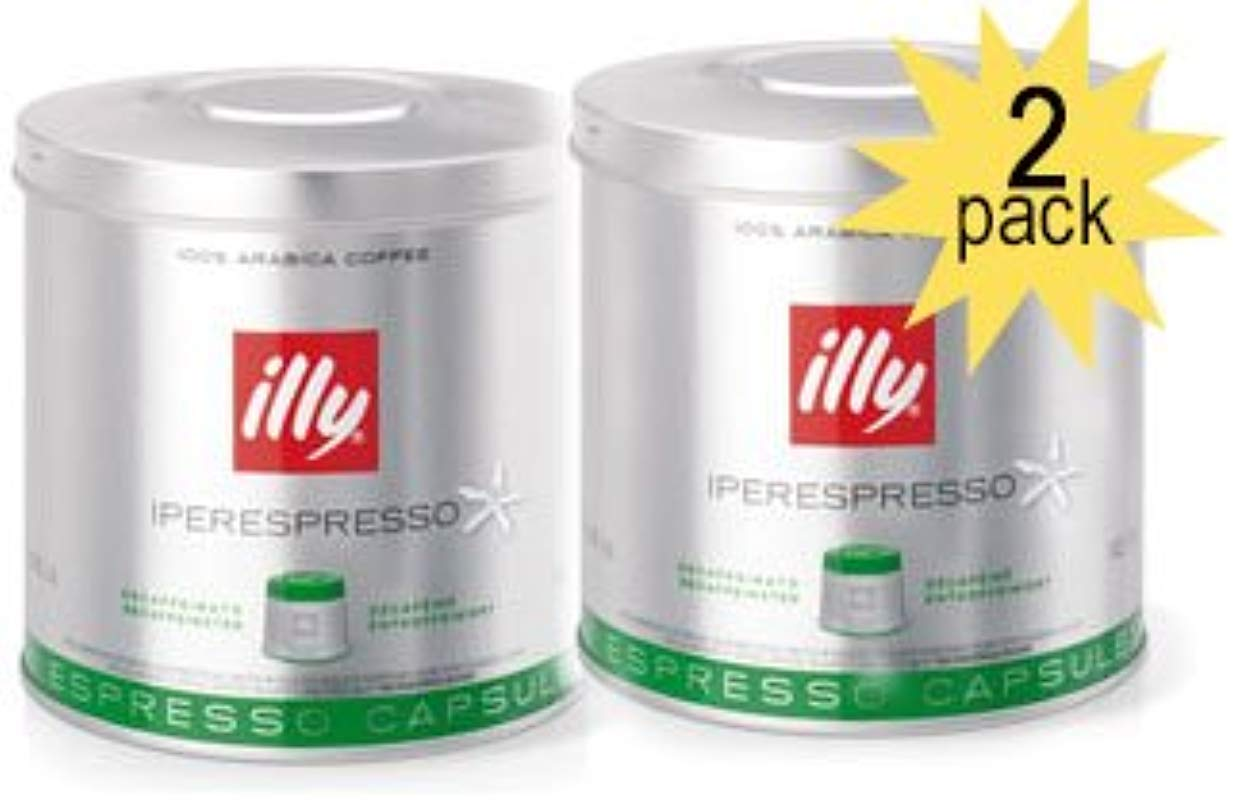 Illy Iperespresso Capsules Decaf Coffee 2 Pack 5 Ounce 21 Count Capsules