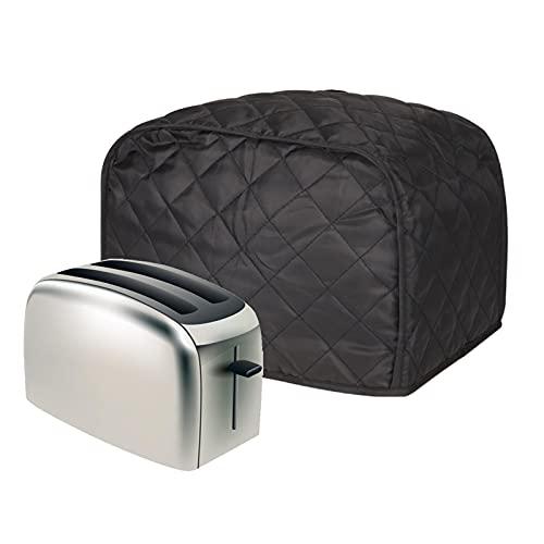 Cubierta para tostadora de 2 rebanadas, cubierta para electrodomésticos pequeños de cocina, tamaño universal para horno de microondas a prueba de polvo, regalo para mujeres MBJZ01