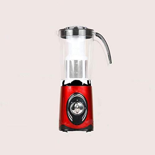ZHAS Juicers Multi-Funktions-Haushalt automatische Obst- und Gemüse-Mini-Brikett-Maschine Student Juice Machine, rot