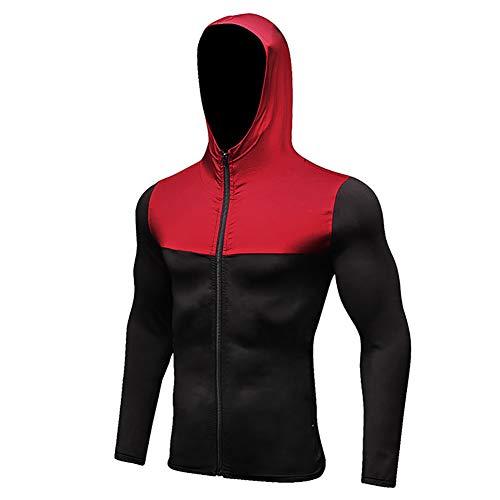 Mae nner Sport Anzug Running Sets Herbst Winter Reiss Verschluss Mit Kapuze Pullover Sport Tragen Training Fuss Ball Jogging Anzug