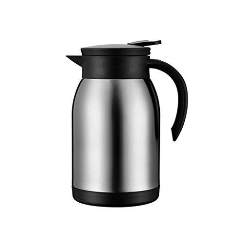 Kleine isolatie van roestvrij staal, bescherming voor waterkoker, kleine ministofzuiger, hete koffiezetapparaat, 880 ml, draagbare waterkoker. Roestvrij staal