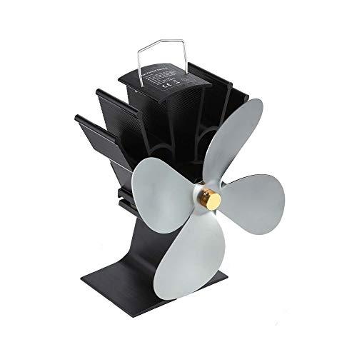 Peanutaso Energía térmica Ventilador de Chimenea