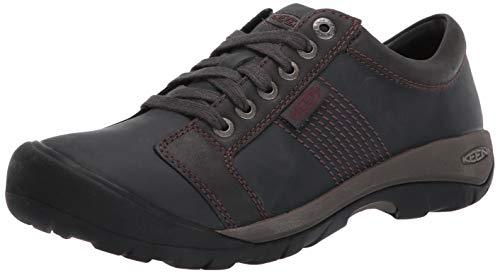 KEEN Men's Austin Sneaker, Black, 9