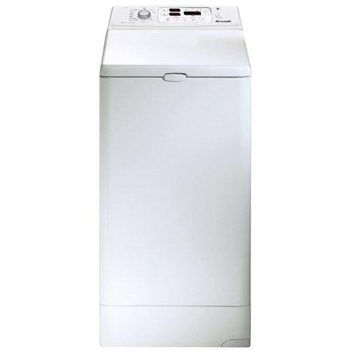 Brandt WTD6384K Autonome Charge supérieure B Blanc machine à laver avec sèche linge - Machines à laver avec sèche linge (Charge supérieure, Autonome, Blanc, Haut, LCD, Acier inoxydable)
