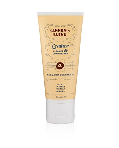 Tanner's Blend - Leather Cleaner & Conditioner Made for Horween & Genuine Real Quality Leather Bags Shoes Furniture Cars Wallets Purses (2oz)