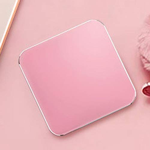 BIYI Portable 10000 / 20000mAh USB Ladegerät Wireless Charging Pad Externe Batterieleistung Bank Super Mini Größe rose golden