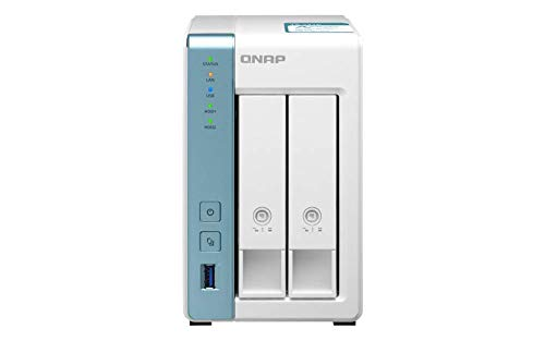 QNAP TS-231K Server Nas e di archiviazione Collegamento ethernet LAN Tower Bianco TS-231K, Nas, Tower, Annapurna Labs, Bianco