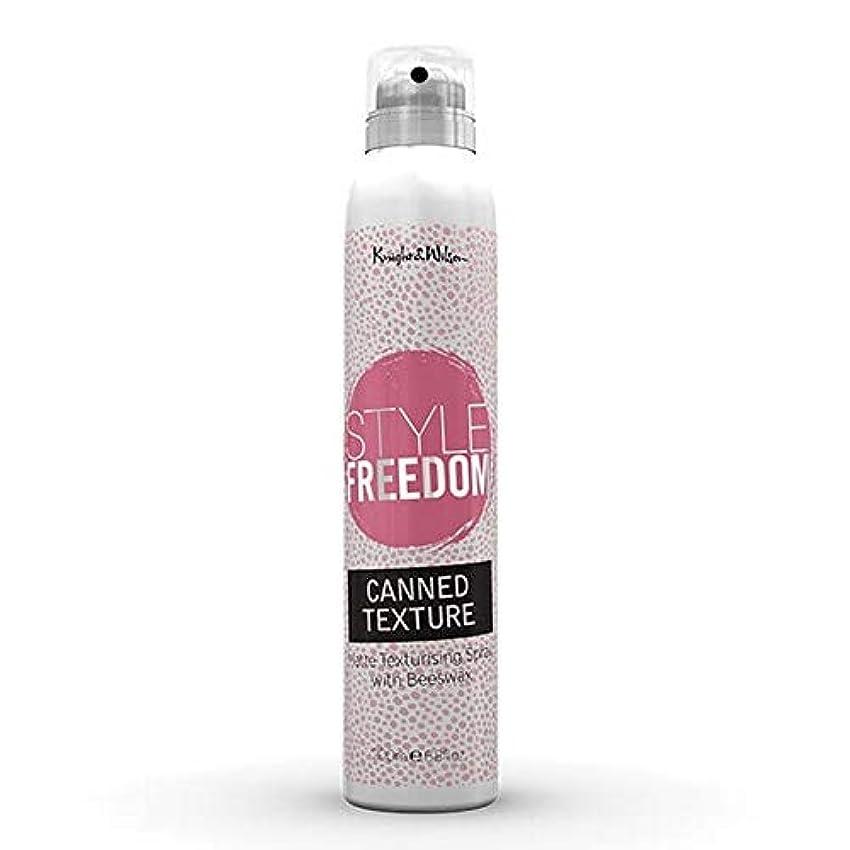 電話に出る四草[Style Freedom ] スタイルの自由缶詰テクスチャスプレー200ミリリットル - Style Freedom Canned Texture Spray 200ml [並行輸入品]