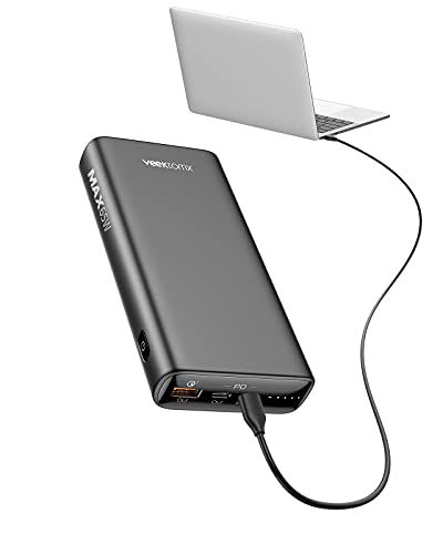 Laptop Power Bank,65W Portable Charger for Laptop, 20000mAh Power...