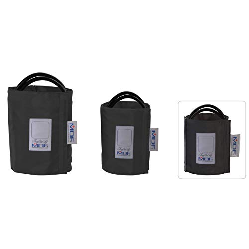 MDF® MDF2100451 Ersatzmanschette für Blutdruckmessgerät, Einschlauch, D-Ring, für Erwachsene, latexfrei