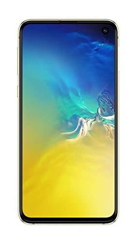 "Samsung Galaxy S10e 128GB+6GB RAM SM-G970 Dual Sim 5.8"" LTE Factory Unlocked Smartphone (International Model) (Canary Yellow)"