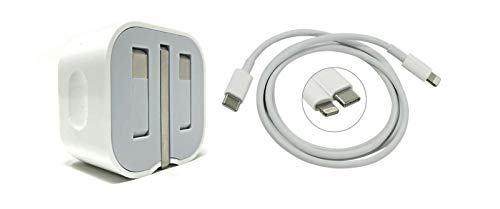 TMI 20W USB C Power Adapter and USB C To Lightning Cable Package iPhone 12 11 iPad