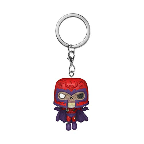 Funko- Pop Keychain: Marvel Zombies-Magneto Figura Coleccionable, Multicolor (49130)