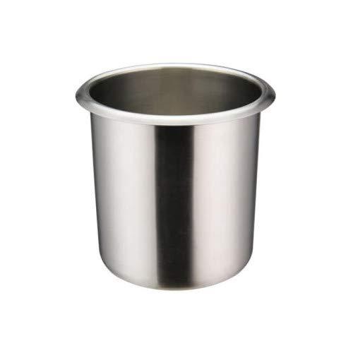 Winco BAMN-1.5, 1.5-Quart Stainless Steel Bain Marie Pot W/О Lid, NSF, Double Boiler, Sauce Pot