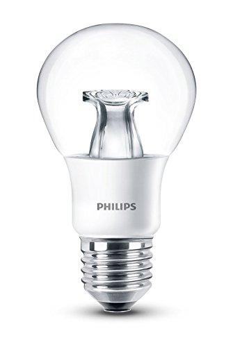 Philips LED Lampe WarmGlow ersetzt 6W=40 W, E27, Warmweiß (2200-2700 Kelvin), 470 Lumen, Dimmbar