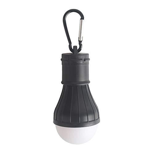 LFYPSM Kampierendes Zeltlicht Batteriebetriebene wasserdichte LED-Laterne des Notlichts Im Freien Die Kampierendes Haus Fischend Wandert,Black