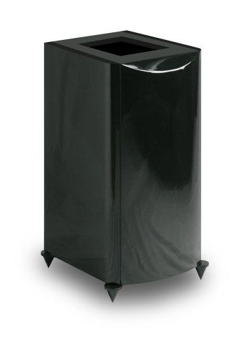 Atlantic Technology 8200eLR-PED-GLB Pedestal Stands for 8200eLR Speakers (Single, Gloss Black)