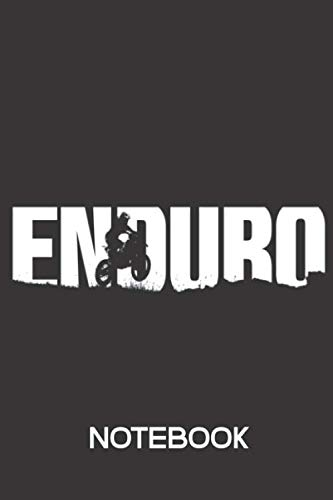 ENDURO Offroad Notebook Notizbuch: Dot Grid Journal 120 Pages (6x9 inches)