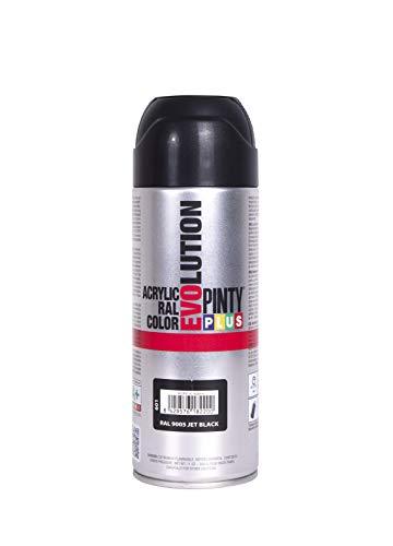 Evolution pinty color M123010 - Pintura spray acrilica 520 cc negro brillante