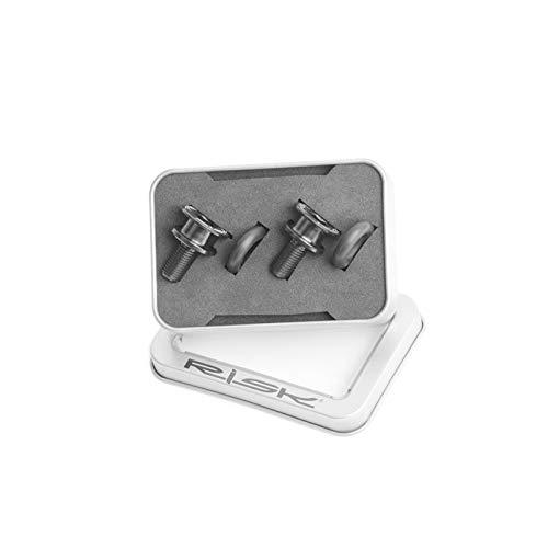 2pcs / Set Pernos de Titanio de Agujero Cuadrado M8 * 15mm B