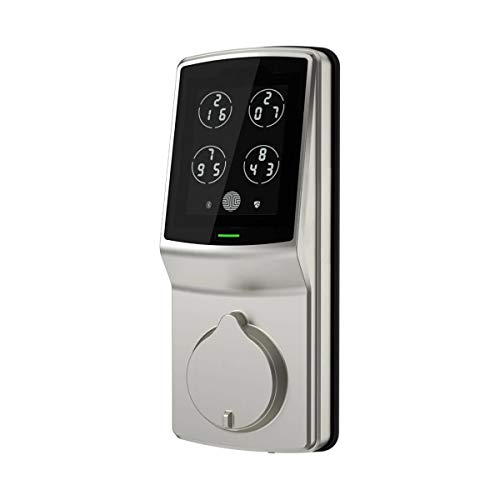 Lockly Keyless Entry Smart Lock, Door Lock (PGD 728) with Advanced Security Oriented Touchscreen Keypad, Bluetooth, Auto Lock, Battery Backup & Easy Installation NO Fingerprint (SatinNickel)