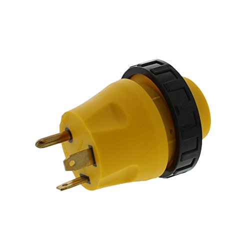 ABN 30 to 30 Amp RV Power Cord, Male to Female 3-Prong 125V AC Camper Generator Cable Adapter Electrical Converter Plug