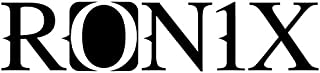 Ronix 3x15 Logo Die Cut - Black (2020)
