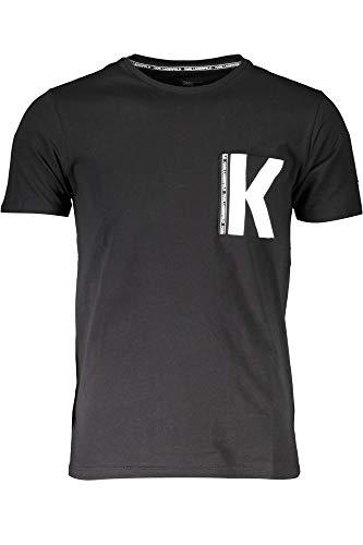 KARL LAGERFELD BEACHWEAR KL19MTS01 T-Shirt mit kurtzen Ärmeln Harren 2XL