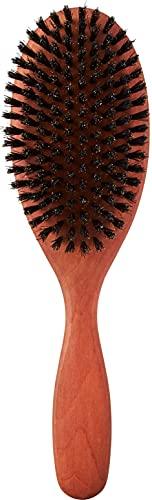 Croll & Denecke Haarbürste, rund, aus Birnbaumholz