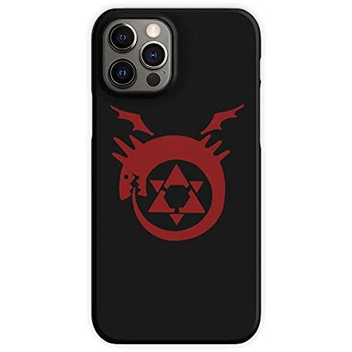 Cajas de teléfono Pure Clear Brotherhood Metal Homunculus Envy Full Lust Alchemist Fullmetal Anime Gluttony Compatible iPhone SAMSUNG Xiaomi Redmi Note 10 Pro/Note 9/8/9A/Poco M3 Pro/POCO X3 Pro Funda