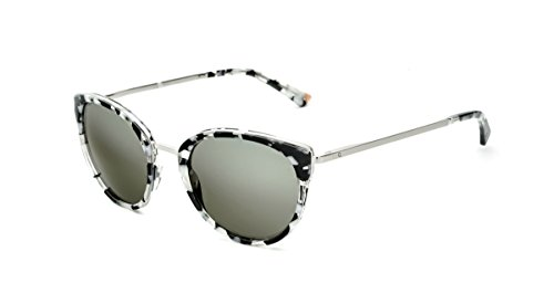 Etnia Barcelona princesa BKPK, Negro/Rosa, 53–21mm, redondo, gafas de sol