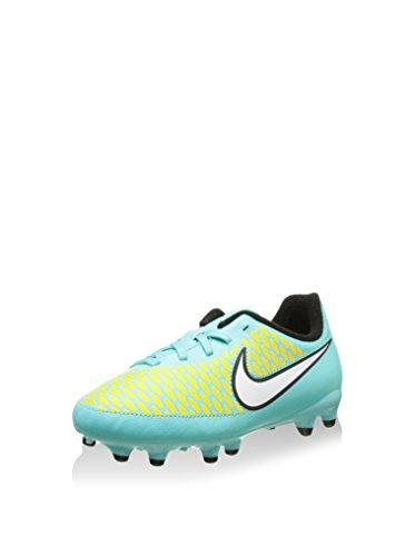 Nike Unisex-Kinder Jr Magista Onda Fg (Xm31.2) Krabbelschuhe, türkis/gelb, 36.5 EU