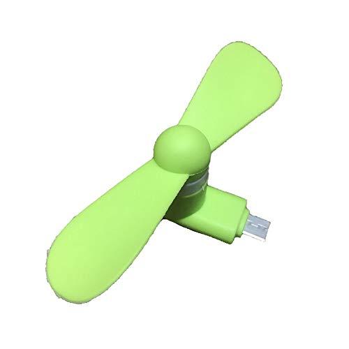 Rouku para Android Portable Cool Micro USB Fan Teléfono móvil Ventiladores USB Voz Baja para Android Teléfono móvil Fuente de alimentación USB
