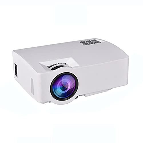 YICHEN Proyector HD portátil Proyector inalámbrico Nativo 1080P para Cine en casa Compatible con TV Stick/PC / PS4 / USB/SD (Cables HDMI/AV incluidos)