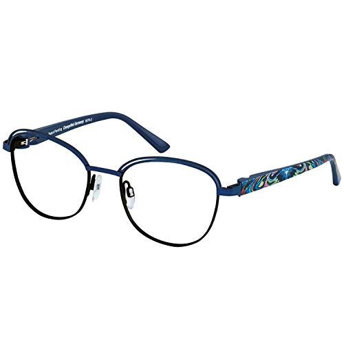 Change Me Brille 2482-2 mit Wechselbügel 8676-2 blau