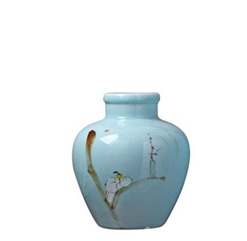 YASEking Decoraciones del Arte del Arte arreglo jarrón de cerámica salón decoración de gabinete de la TV en casa de Flores balcón Mesa de Comedor