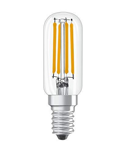 LED Lampe Special T26 für Kühlschrank mit E14 Sockel, 6,50 W, Ersatz für 55W-Glühbirne, Warmweiß (2700K)
