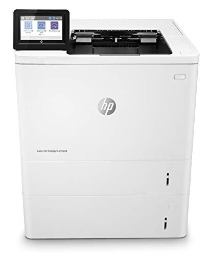 HP LaserJet Enterprise M608x Monochrome Duplex Printer with One-Year, Next-Business Day, Onsite Warranty and Extra Paper Tray (K0Q19A)