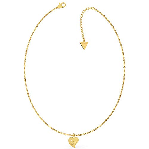 Guess Damen-Kette Edelstahl One Size Gold 32012895
